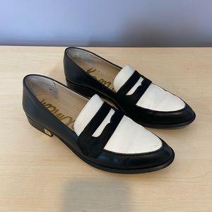 Sam Edelman bethanie calf hair loafers